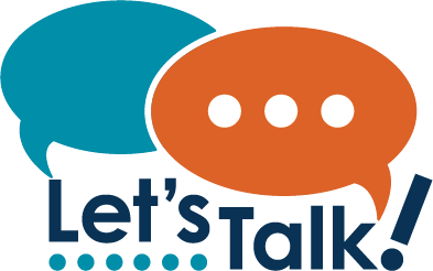 Let's Talk! logo